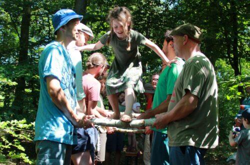 Foto vom Waldläufercamp